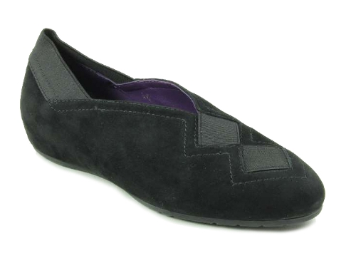 Picture of BLACK SUEDE PANDY
