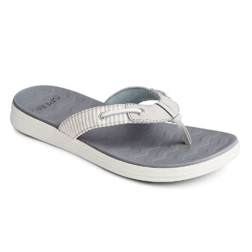 Picture of GREY / WHITE ADRIATIC THONG