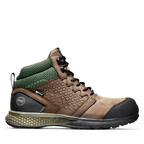 Picture of BROWN/GREEN REAXION MID