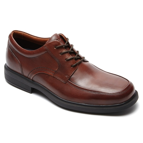 NEW BROWN DPLUXE APRON TOE