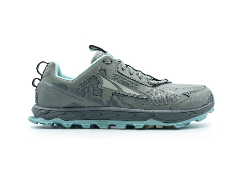 GRAY/TURQUOISE LONE PEAK 4.5 LOW