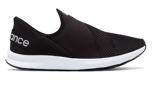 Picture of BLACK / WHITE NERGIZE EASY SLIP-ON
